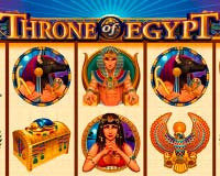 Онлайн-аппарат Throne of Egypt (Египетский Трон)